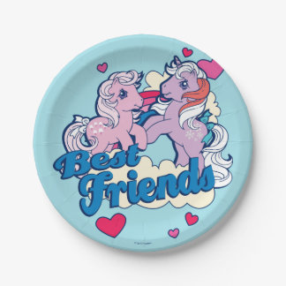 Classic My Little Ponies | Best Friends Paper Plate