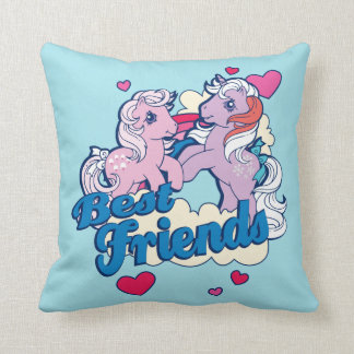 Classic My Little Ponies | Best Friends Throw Pillow