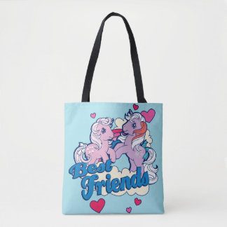 Classic My Little Ponies | Best Friends Tote Bag
