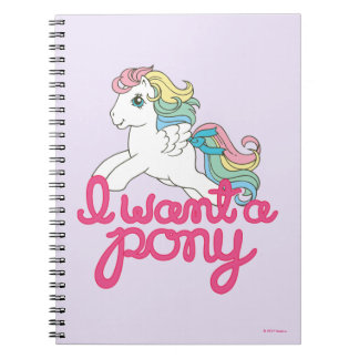 Classic My Little Pony | I Want a Pony Script Notebook