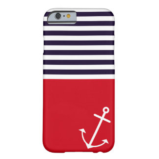 Classic Nautical Barely There iPhone 6 Case