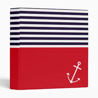 Classic Nautical Binder