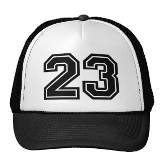 Classic Number 23 Trucker Hat