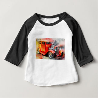 Classic Old Red Car Baby T-Shirt