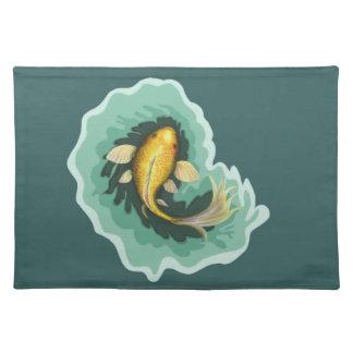 Classic Orange Koi Fish Placemat