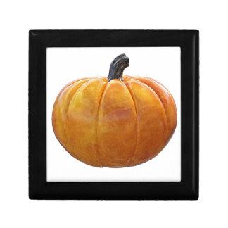 Classic Orange Pumpkin Gift Box