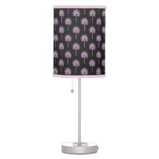 Classic oriental japanese dandelion tree pattern table lamps