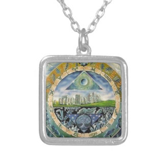 Classic Paranoia Silver Plated Necklace