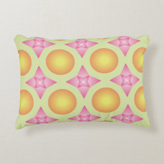 Classic patterned throw pillow