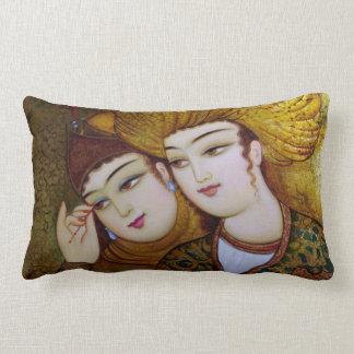 Classic Persian Art Lumbar Pillow