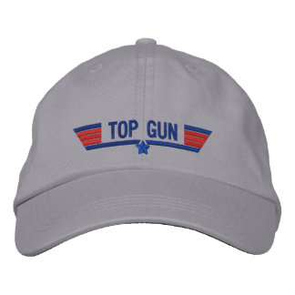 Classic Personalized Top Gun Wings Your Text Embroidered Baseball Cap
