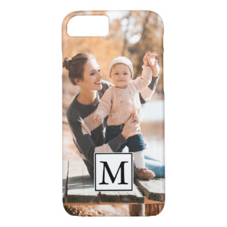Classic Photo with Monogram Case-Mate iPhone Case