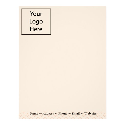 Classic Pink Business Letterhead
