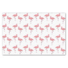 Classic Pink Flamingo Pattern Tissue Paper