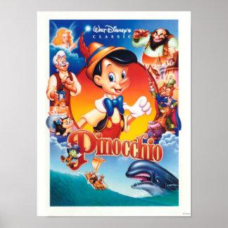 Classic Pinocchio Poster