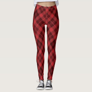 Classic Plaid Leggings