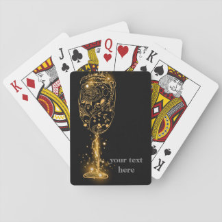 Classic Playing Cards, glitter wine Playing Cards