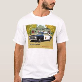 Classic Police Cars 1965 Plymouth Shirt