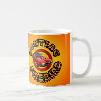 Classic Pontiac Firebird Car Mug. Coffee Mug