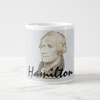 Classic Portrait of Alexander Hamilton Giant Coffee Mug