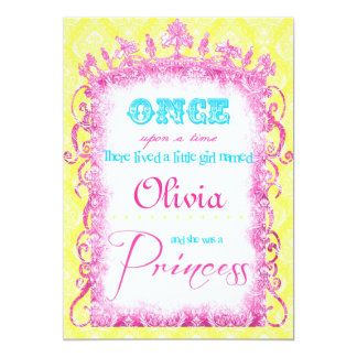 Classic Princess Party Invites