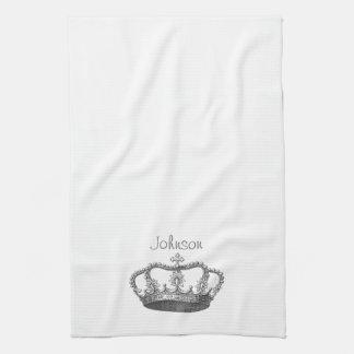 Classic Queen's Crown Kitchen Towel