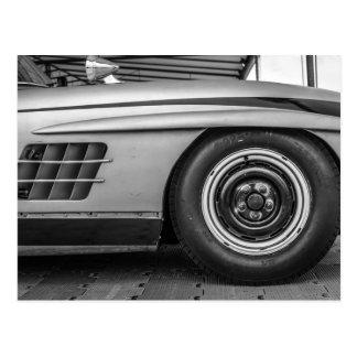 Classic Racing Car Postcard