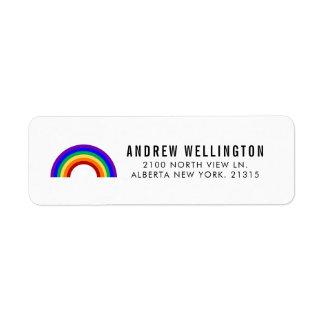 Classic Rainbow   Return Address