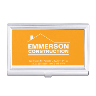 Classic Realtor-Construction-Handyman 2f Business Card Holder