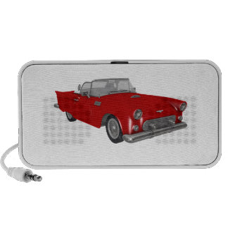 Classic Red 50's Car iPod Speakers