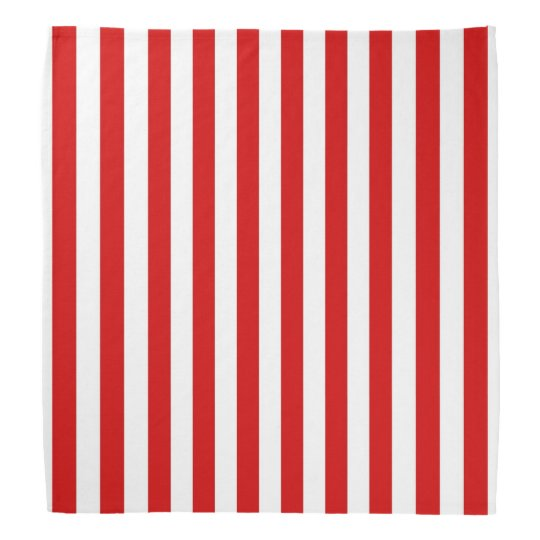 Classic Red and White Stripe Pattern Do-rags