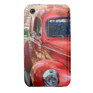 Classic Red Car iPhone 3 Case-Mate Case