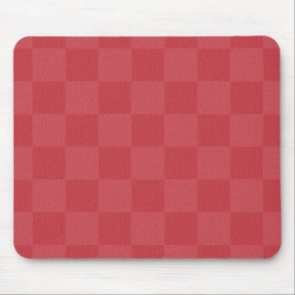 Classic Red -Checkers- Custom Mouse Pad