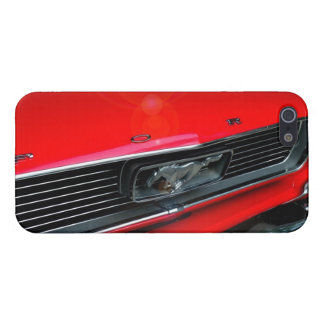 Classic Red Mustang iPhone5 Case iPhone 5/5S Cases