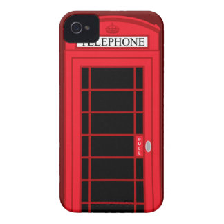 Classic Red Public Telephone Box UK: iPhone 4 Case