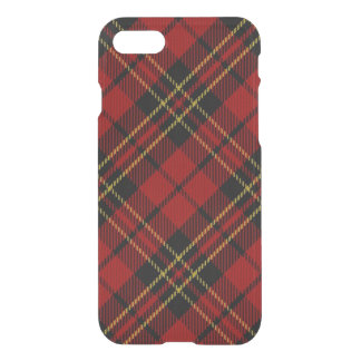 Classic Red Tartan iPhone 7 Clear Case