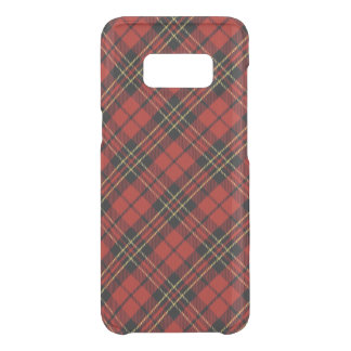 Classic Red Tartan Samsung Galaxy S8 Clearly Def. Get Uncommon Samsung Galaxy S8 Case