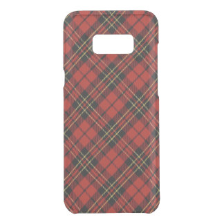 Classic Red Tartan Samsung Galaxy S8+ Clearly Def. Uncommon Samsung Galaxy S8 Plus Case