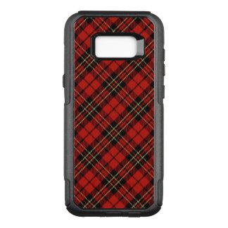 Classic Red Tartan Samsung OtterBox Galaxy S8+ Com OtterBox Commuter Samsung Galaxy S8+ Case