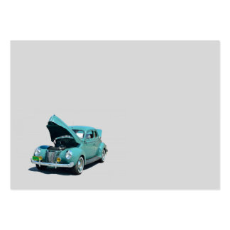 Classic restored automobile large business card