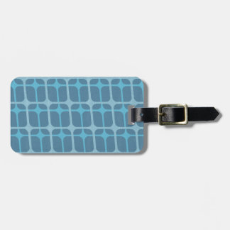 Classic Retro Airline Pattern Luggage Tag