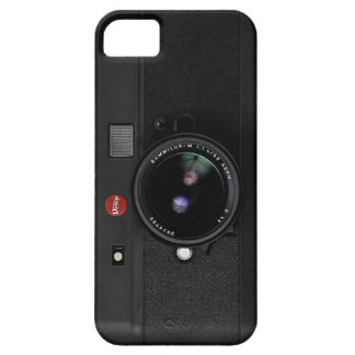 Classic Retro Old Vintage Black doff Camera Case For The iPhone 5
