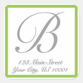 Classic Return Address Label