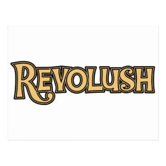 Classic Revolush Logo Postcard