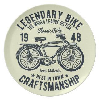 Classic Ride Bicycle Legendary Bike Craftsmanship Plate