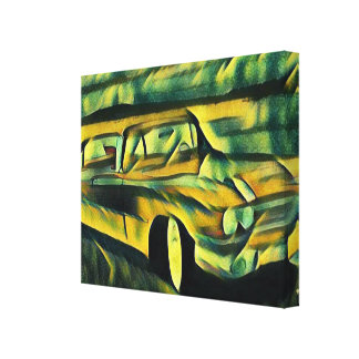 Classic Ride Canvas Print