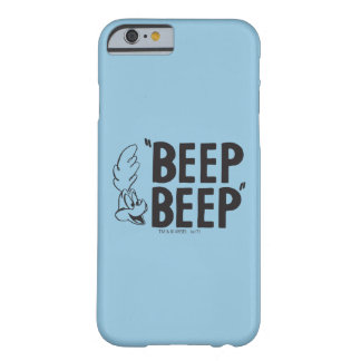 "Classic ROAD RUNNER™ ""BEEP BEEP"" Barely There iPhone 6 Case"