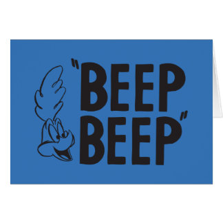 "Classic ROAD RUNNER™ ""BEEP BEEP"" Card"