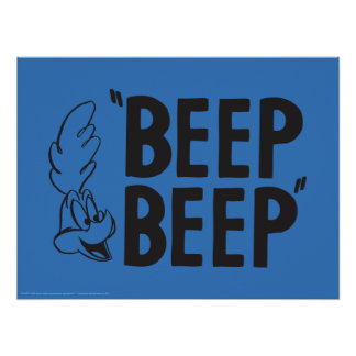 "Classic ROAD RUNNER™ ""BEEP BEEP"" Poster"
