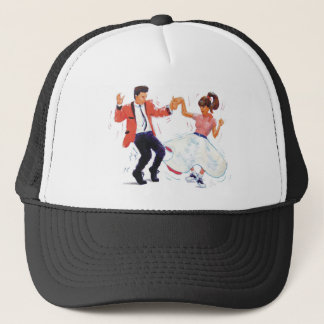 Classic Rock and Roll  Jive Dancing Trucker Hat
